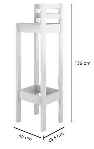 Beliche Infantil com Telhado/Escada/ Escorregador Casa Tema - Foto 4