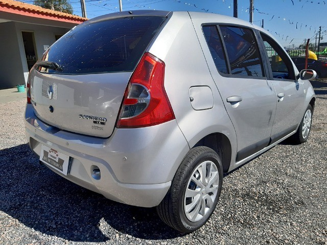 Sandero Privilege 1.6 8V Completo 2009 - Aceito Troca - Financio 100% - Foto 7