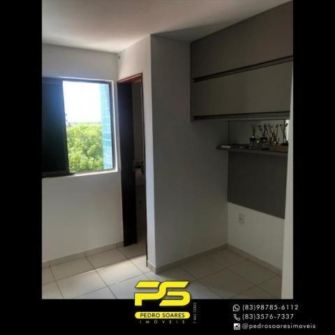 Apartamento com 2 dormitórios para alugar, 60 m² por R$ 1.700/mês - Altiplano Cabo Branco  - Foto 10