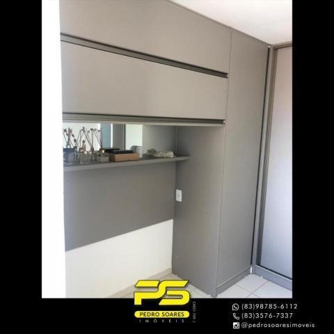 Apartamento com 2 dormitórios para alugar, 60 m² por R$ 1.700/mês - Altiplano Cabo Branco  - Foto 6