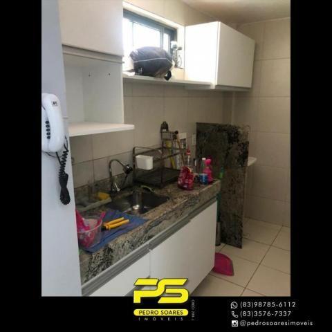 Apartamento com 2 dormitórios para alugar, 60 m² por R$ 1.700/mês - Altiplano Cabo Branco  - Foto 7