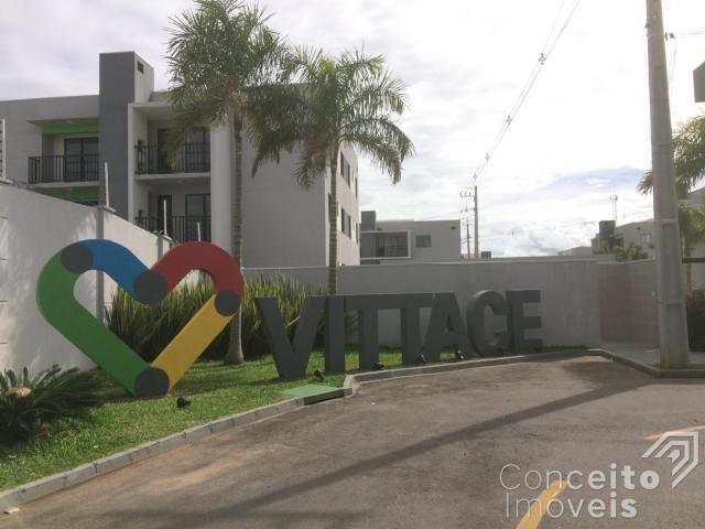 Apartamento para alugar com 1 dormitórios em Jardim carvalho, Ponta grossa cod:393113.001 - Foto 2