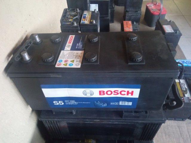 Bateria Bosch 180 amperes fabricação 2020