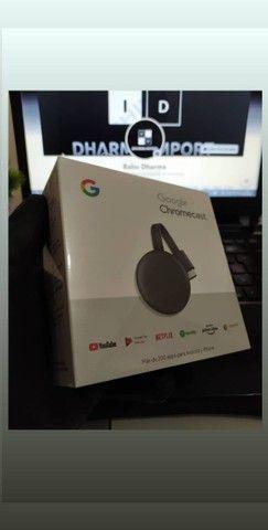 Chromecast geração 3 original e lacrado. - Foto 6