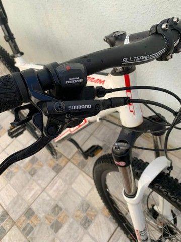 Bicicleta aro 29 grupo Shimano deore - Foto 4