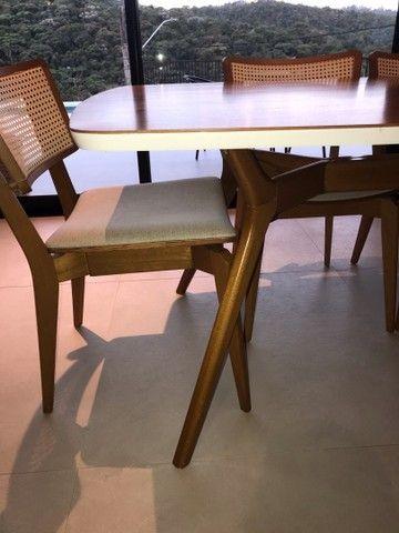 Mesa de jantar com 6 cadeiras Tok Stok - Foto 6