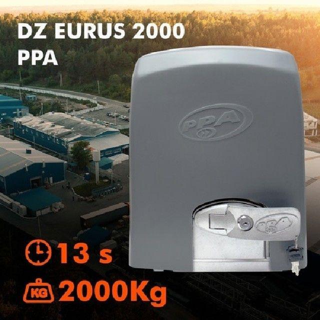 Motor De Portão Deslizante Ppa Dz Fort euros 2000 Industrial DZ.PPA-11