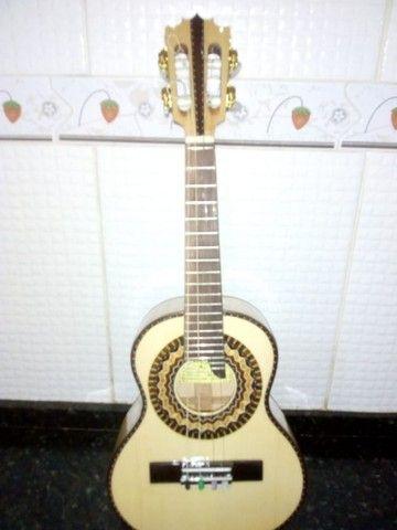 Cavaquinho Luthier em faia maciço modelo luxo. - Foto 4