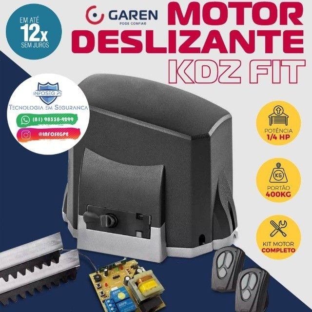 Portão Deslizante Motor Garen Kdz Fit 12x de R$ 57,99 (Instalação Inclusa) - Foto 2