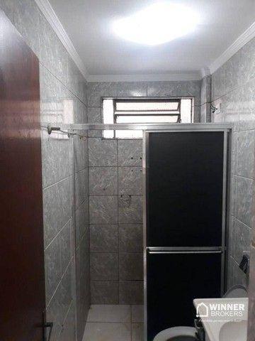 Apartamento com 3 dormitórios para alugar, 64 m² por R$ 900,00/mês - Zona 08 - Maringá/PR - Foto 10