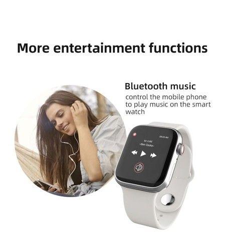 Smartwatch T900 - Com chamada - Foto 4
