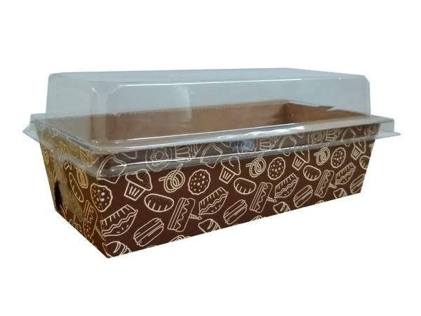 Caixas para bolo, forneáveis