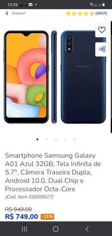 vendor um celular A01 todo bom *6