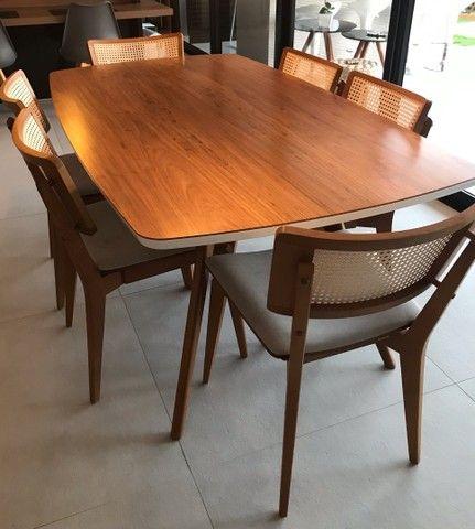 Mesa de jantar com 6 cadeiras Tok Stok - Foto 4
