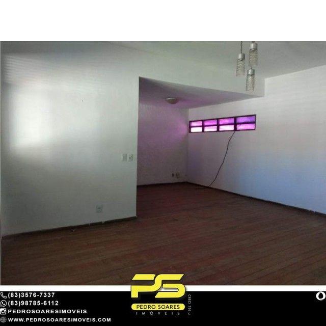 Casa com 3 dormitórios para alugar, 275 m² por R$ 5.000/mês - Tambaú - João Pessoa/PB - Foto 10