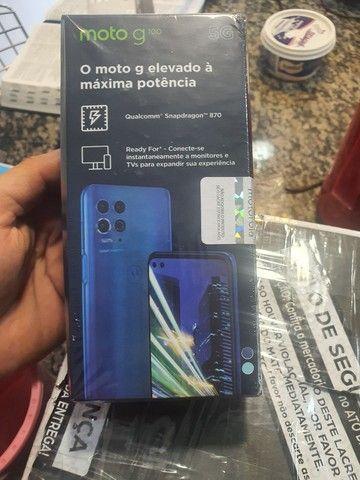Motorola moto g100 ( zero, lacrado na caixa, com nota fiscal é garantia de 1 ano) - Foto 2
