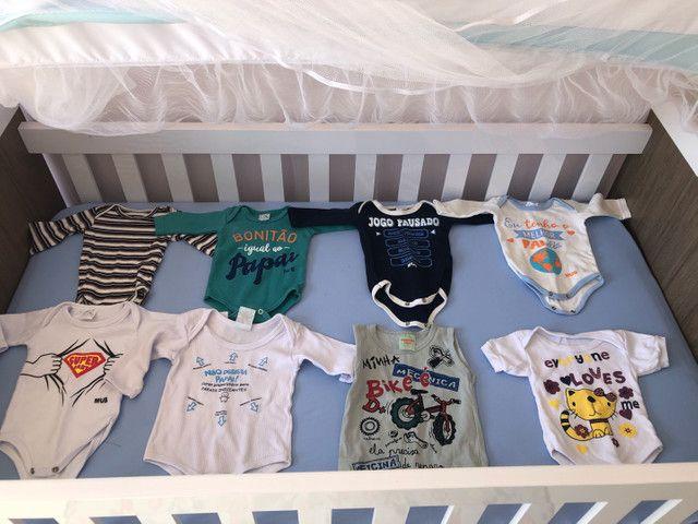 Lote de bebê menino+ protetores e almofada de berço  - Foto 2