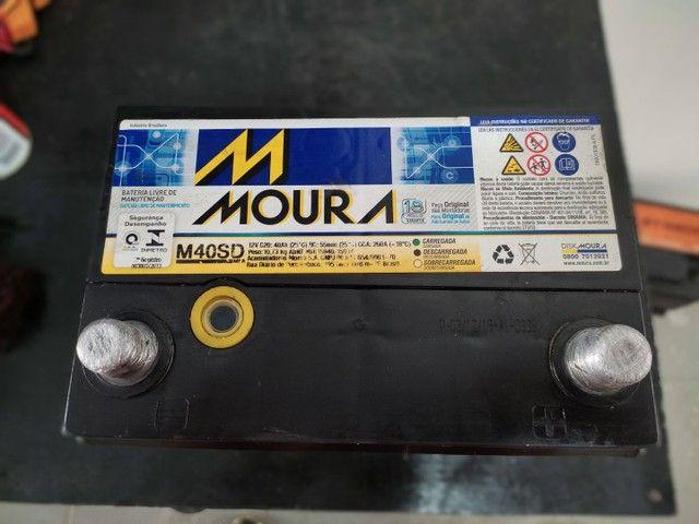 Bateria Moura 40ah  - Foto 2