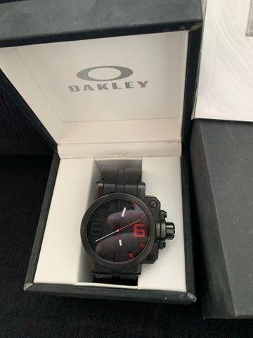 Relógio GEARBOX OAKLEY - ORIGINAL - Foto 2
