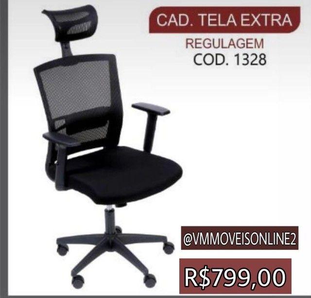 Cadeira Office Tela Extra Entrega Goiânia e Aparecida
