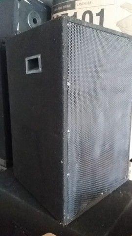 4 gabinetes caixas de som vazias - Foto 3
