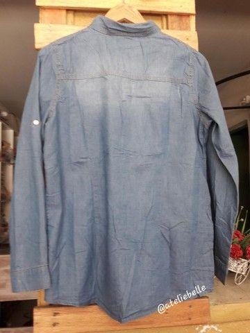 Blusa feminina  jeans  - Foto 3