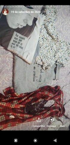 Vendo roupas e calcados Tam P ao M, R$10,00 a R$20,00 - Foto 3