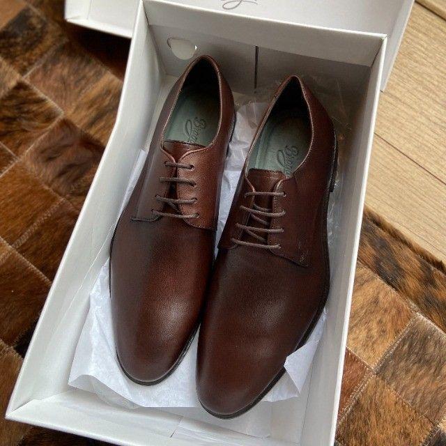 Sapato Social Derby Justin Brown 41 - Foto 3