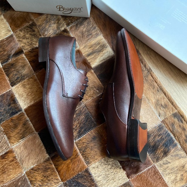 Sapato Social Derby Justin Brown 41 - Foto 5