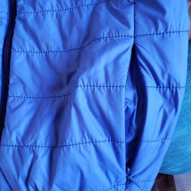 Jaqueta de Nylon infantil reversível tamanho 7-8 - Foto 6