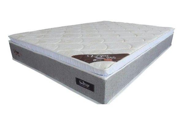 Cama Box Queen Vogue D45 com Pillow -77cm Altura - Foto 2