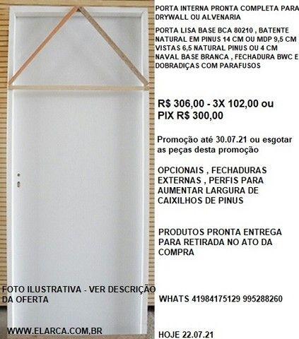 rodapé madeira maciça moldurado 1,5x 6,5  4,00 ml pronta entrega - Foto 3