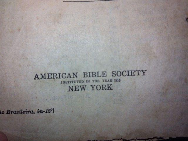 Bíblia Antiga e Rara - Foto 4