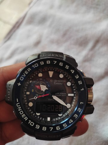 Relógio Casio g shock gwn 1000B! Original - Foto 5