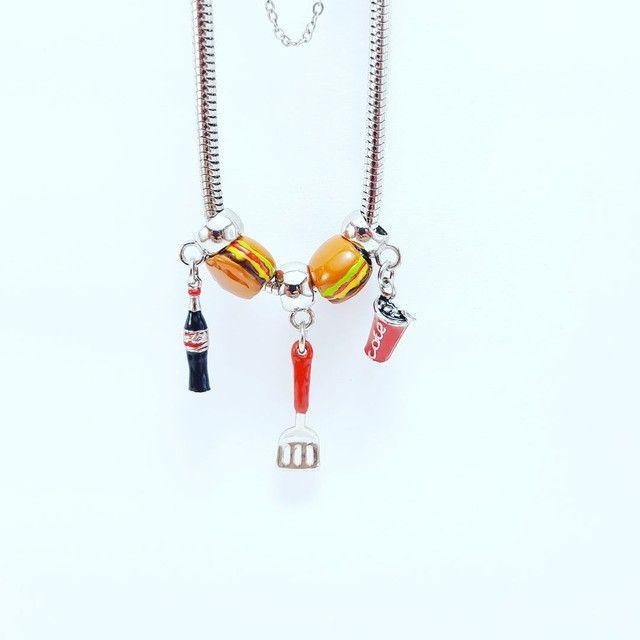 Pulseiras e berloques lindos modelos monte sua pulseira - Foto 3