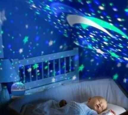 Abajur Luminária Céu Estrelado - Foto 2