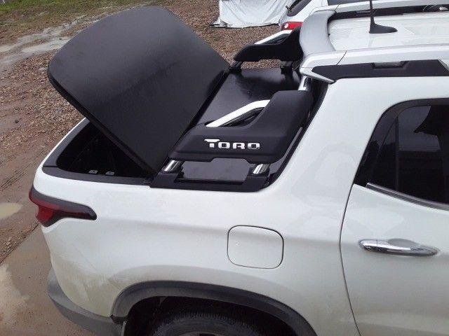 Tampao Aço Demovel elétrico HIlux Toro Ranger S10 Amarok SAveiro com instalacao - Foto 12