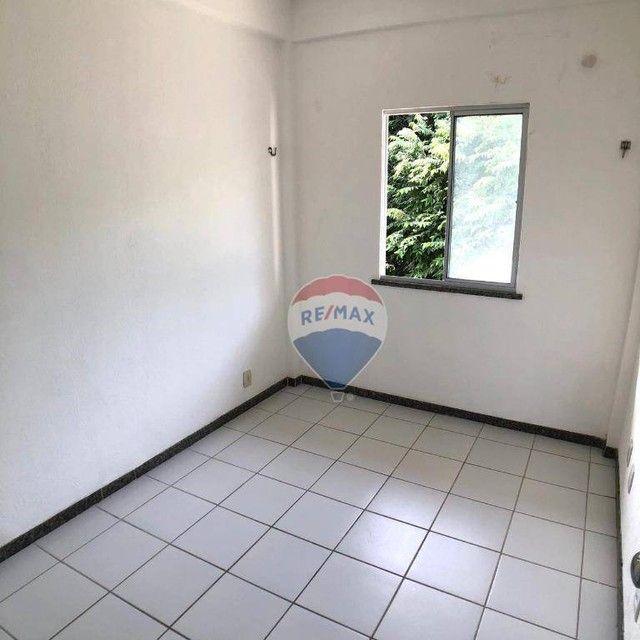 Apartamento com 2 dormitórios para alugar, 51 m² por R$ 820,00/mês - Edson Queiroz - Forta - Foto 11