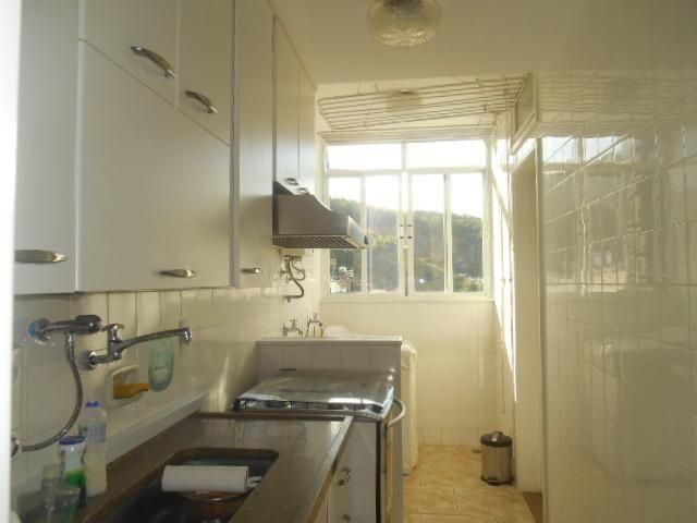 Rua Souza Franco, apto 02 dormitórios , dependência , varanda e vaga escriturada - Foto 14