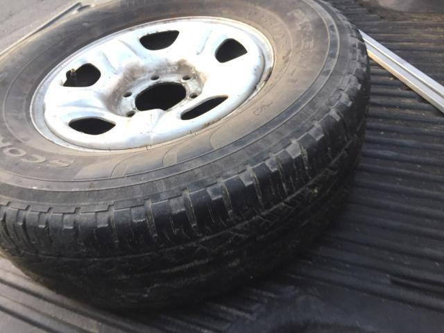 Estepe pra camioneta aro 16 S10 L200 Hilux - Foto 2
