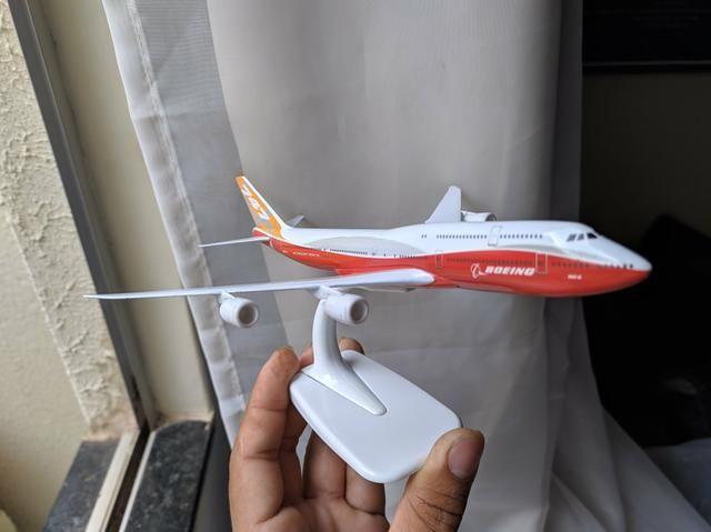 Miniatura boeing 747