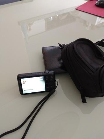 Câmera fotográfica Sony+case+cartão de memória de 8gb - Foto 3