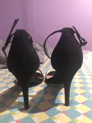 Sapato Saltinho novo 80,00 (tamanho 38) - Foto 3