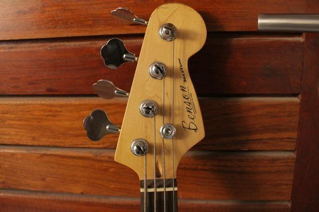 Contra-baixo Benson Jazz Bass + Brinde - Foto 3
