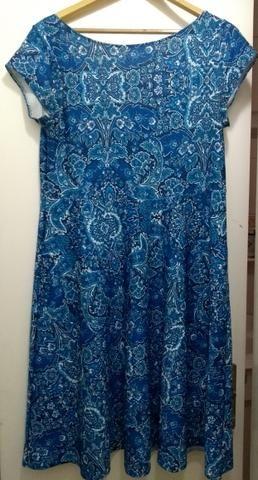 Vestido azul GG