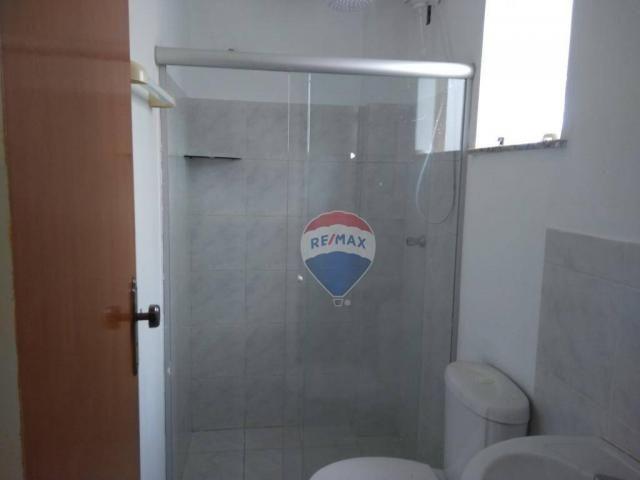 Apartamento com 2 dormitórios para alugar, 55 m² por r$ 600,00/mês - candeias - vitória da - Foto 8