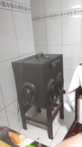 Caixa de som toca na luz 400 reais - Foto 4