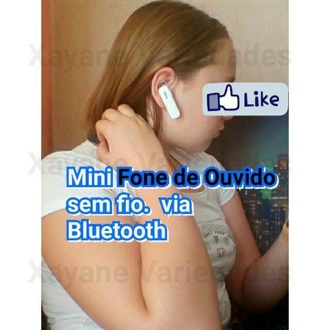 Mini Fone Ouvido Bluetooth Universal