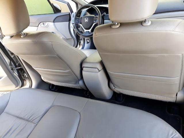 Honda Civic 2.0 LXR com kit multimídia original Honda 2013 - 2014 - Foto 6