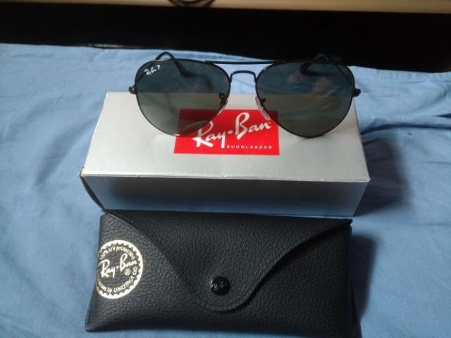 Ray Ban aviador polarizado - Bijouterias, relógios e acessórios ... 7951afd61c
